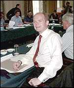 [ image: William Hague: Changing faces around the table]