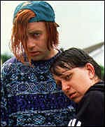 [ image: Terrible twosome: Harry Enfield and Kathy Burke]