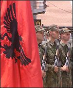 [ image: UK armed forces say the Kosovo Liberation Army has generally acted responsibly]