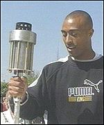 [ image: Colin Jackson: Athlete's mentor]