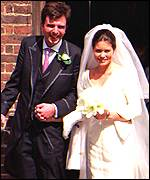 Samantha Shaw and husband David Keswick++