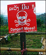 [ image: Millions of landmines across the world]