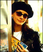 [ image: Julia Roberts in Notting Hill: Part of a great cast]