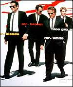 [ image: Reservoir Dogs used sunglasses to create a menacing atmosphere]