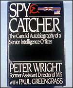 [ image: Peter Wright's Spycatcher memoirs]