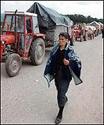 [ image: Thousands of Serbs have fled Kosovo in terror]