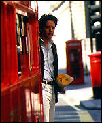 [ image: Hugh Grant in Notting Hill - later seen with book of the next film]