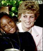 [ image: Mr Annan said Princess Diana raised awareness of Aids patients' plight]