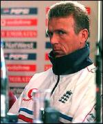 [ image: Ex-captain Alec Stewart was criticised for England's failure in the World Cup]