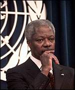 [ image: Kofi Annan: The stand-by force will speed up peacekeeping operations]