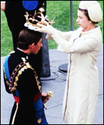 [ image: The Prince of Wales' investiture]