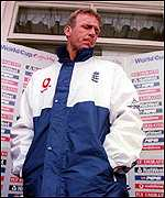 [ image: Alec Stewart: Axed as captain, but still in contention as a player]