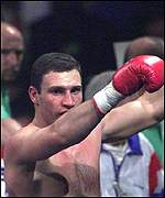 [ image: Vitali Klitschko: Made easy work of Hide]