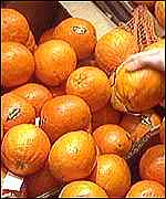 [ image: A kilo of oranges - that's 2.2lbs to you, guv'nor]