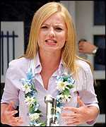 [ image: Former Spice Girl Geri Halliwell is an ambassador for the UN population fund]