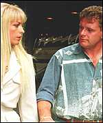 Gazza and ex-wife Sheryl