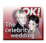 The celebrity wedding