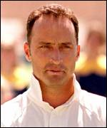 [ image: Nasser Hussain, the new England cricket captain]