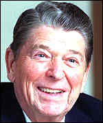 [ image: Up our street: Ronald Reagan helped the Poles against the 'evil empire']