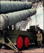 [ image: Russia might be willing to sell Syria S-300 air defence missiles]