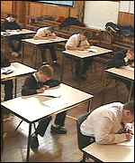 [ image: Some of the most difficult children are now sitting their GCSEs]