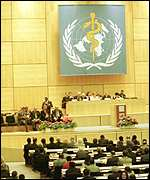 [ image: 1999 World Health Assembly gave programme unanimous backing]