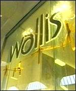 [ image: Wallis is one of brands which will be expanded]