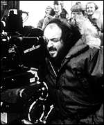 [ image: Kubrick at work: The reclusive director died in March]