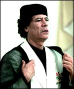 [ image: Colonel Gaddafi: Peacemaker in the Horn?]