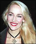 [ image: Jerry Hall: Already a millionaire from her modelling career]