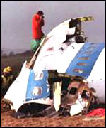 [ image: Lockerbie crash: 270 people died]