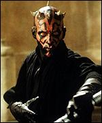[ image: Darth Maul, as played by Ray Park]