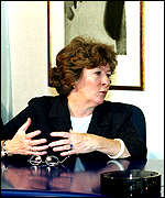 [ image: Mrs Arbour: hard evidence against Milosevic]