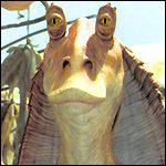 [ image: Jar Jar Binks: Has come under fire for alleged racial stereotyping]