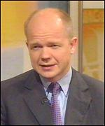 [ image: William Hague has not ruled out setting up an English Parliament]