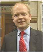 [ image: William Hague has backed his treasurer to the hilt]