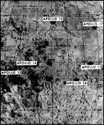 Apollo landing sites, Nasa