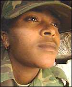 Eritrean woman soldier