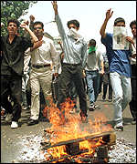 [ image: Student protests have rocked Iran this month]