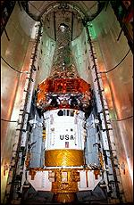 [ image: The Chandra telescope just squeezes into Columbia's cargo hold]