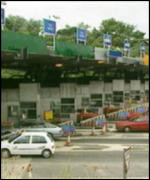 [ image: Toll booths not popular]