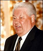 [ image: President Yeltsin: Appealed against the law]