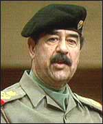 [ image: Saddam Hussein: UK firms supplied his regime with weapons]