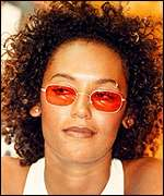 [ image: Scary Spice - Mel G - is one of a growing number of people to have their tongues pierced]