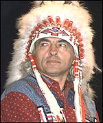 [ image: Chief Phil Fontaine: Calling on American Indians to join together for collective benefit]