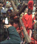 Crucifixion reconstruction