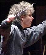 [ image: Sir Simon Rattle called the Festival Hall the worst venue in Europe]