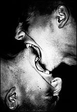 [ image: Kiss/Bite (The dworkin twins) by Dr David Teplica]