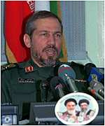 [ image: General Safavi: A hardline general viewed with suspicion by reformers]