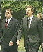 [ image: The deputy PM has denied reported rifts with Tony Blair]